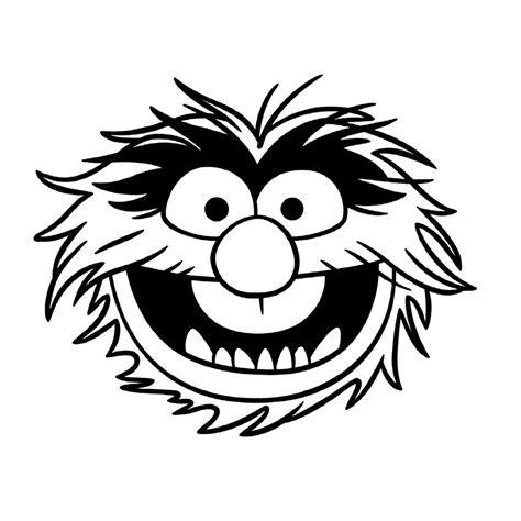 Kleurplaten Muppet Show by Leuk Voor Animal