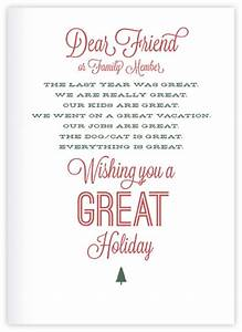 10 sample holiday letters sample letters word With christmas photo cards with letter on back