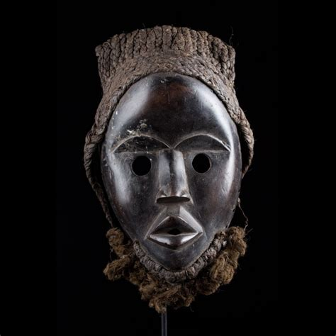 Masque africain Gunyege - Dan - Côte d'Ivoire