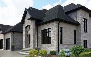 ARCHITECTURE: Wall General Shale Brick With Black Sloping ...