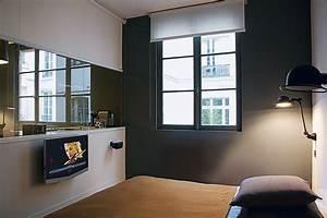 optimiser lespace dans un appartement de 35 m2 marie claire With plan de travail maison 4 avant apras optimiser lespace dans un studio maison