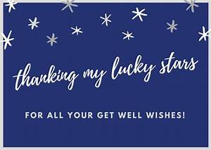 Get Well Soon Thank You Card Printables