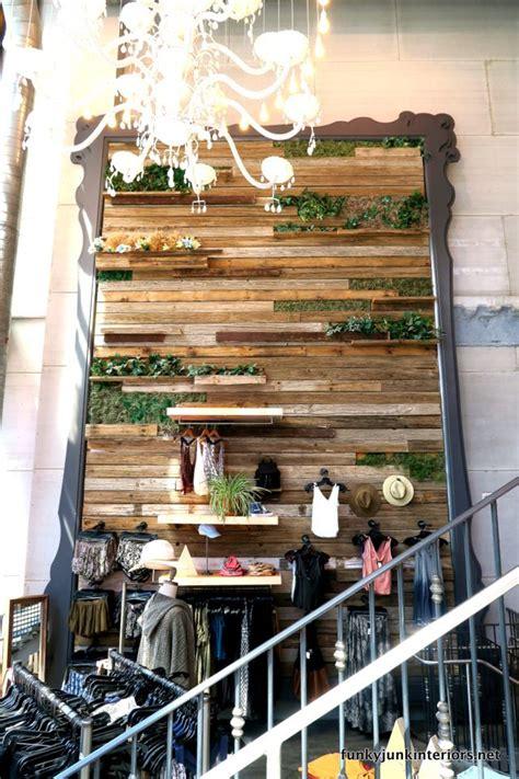 opulence  las vegas green walls shelves  plants