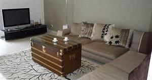 Table Basse Malle : la malle meuble de rangement oui mais pas que ~ Melissatoandfro.com Idées de Décoration