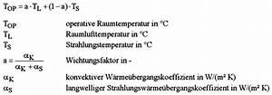 Quadratmeter Berechnen Formel : operative temperatur shkwissen haustechnikdialog ~ Frokenaadalensverden.com Haus und Dekorationen