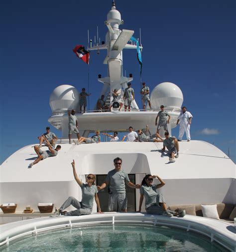 working  cruise ships  superyachts  vast sea