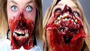 Maquillage Garcon Halloween : maquillage zombie zombie makeup youtube ~ Farleysfitness.com Idées de Décoration