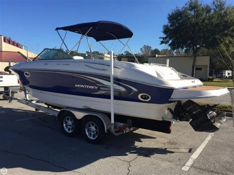 Monterey Deck Boats For Sale by Used Monterey Deck Boat Boats For Sale Boats