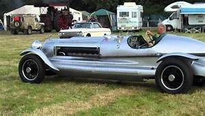 SPITFIRE ENGINED CAR - YouTube