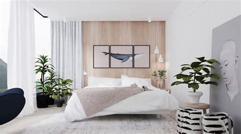 plante dans chambre 20 idées pour décorer une chambre avec des couleurs neutres