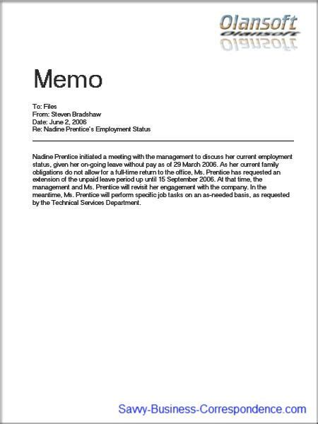 memo  files business english themes business memo