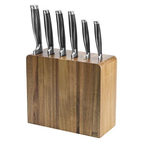 oliver kitchen knives oliver six knife block set harts of stur