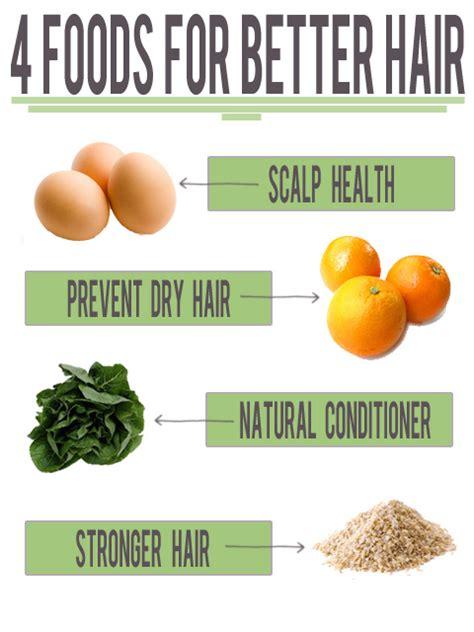 4 Foods For Better Hair