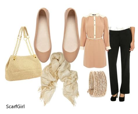 Scarf-Girl In The City Job Interview Outfit Ideas for Hijabis