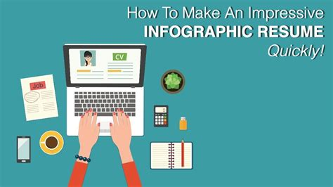 How To Make An Impressive Infographic Resume  Quickly