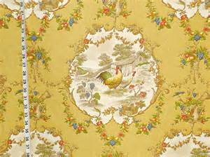French Country Rooster Kitchen Curtains by P Kaufman County Fair Rooster Chicken Fabric Of The Week