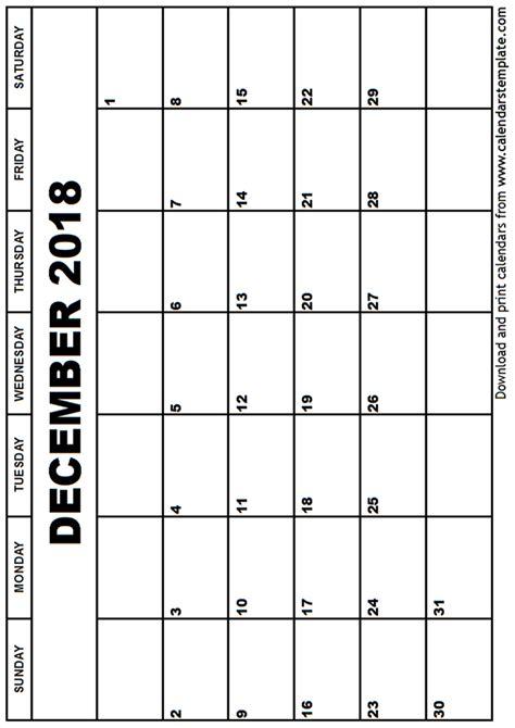 printable calendar december 2017 pdf calendar template 2018 december 2018 calendar template printable 2017 calendars prin
