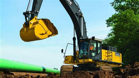john deere expands offering  grade guidance technology   ton excavator heavy equipment guide