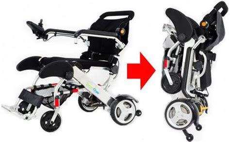 lightweight foldable power wheelchair kd smart chair