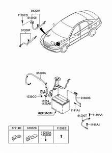 2008 Hyundai Azera Battery Wiring