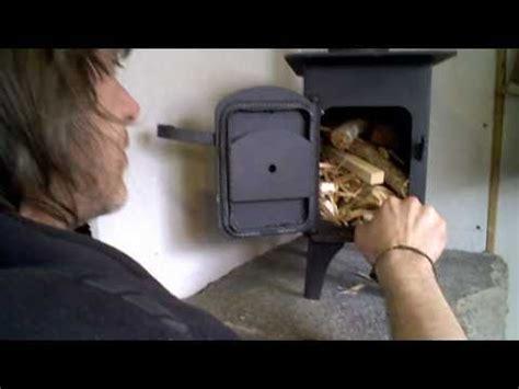wood stove installation   camper van youtube
