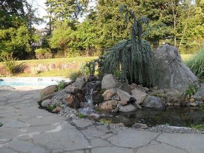 Aquascape Nj by Backyard Landscape Pond Ideas Northern New Jersey Nj