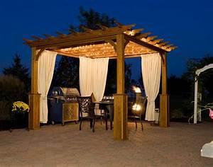 Outdoor Pergola Lights - interior decorating accessories