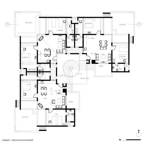 home plans with guest house amazing home plans with guest house 8 modern guest house