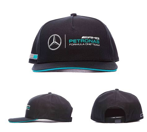 Descubre la mejor forma de comprar online. Puma Motorsport Mercedes AMG Cap | Black | Footasylum