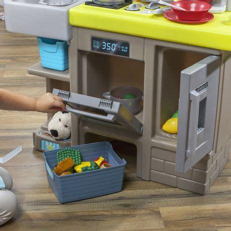 step contemporary unisex junior chef kitchen playset walmart canada