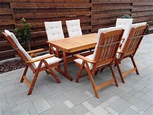 Gartenmöbel 2 Personen : bonanza gartengarnitur f r 6 10 personen mit ausziehbarem ~ Michelbontemps.com Haus und Dekorationen