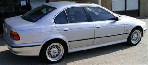 buy   bmw  silver black dr sedan
