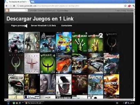 Descargar Juegos Para Pc 1 Link Youtube