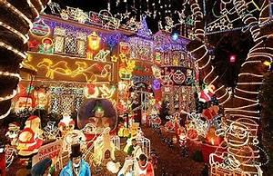 Fachadas de casas decoradas para navidad Casas y Fachadas