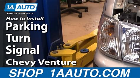 replace parking light   chevy venture youtube
