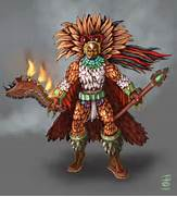 Aztec Eagle Warrior Armor Aztec warrior by nahual4004  Aztec Eagle Warrior Drawing