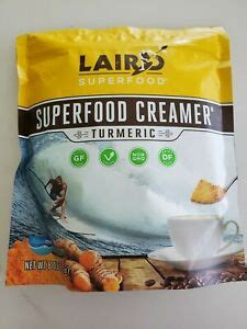 Whether you're looking to add turmeric to coffee for its health benefits, for the bright yellow liquid in your morning cup, or to satisfy your curiosity about the taste, here's our you'll find turmeric added with milk and other spices commonly referred to as a golden latte. Paleo Laird Superfood 8oz Turmeric Coffee Creamer GF DF Vegan NonGMO Golden Milk 855694006391   eBay
