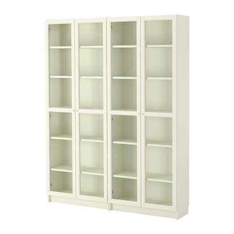 ikea com billy bookcase billy oxberg bookcase white glass ikea