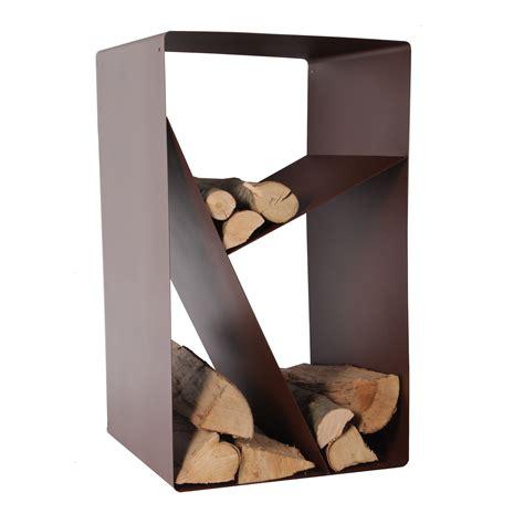 range buche interieur design porte buches en acier 233 poxy forme casier chocolat 50x56x95cm design chemin 233 e