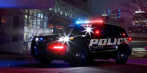 quickest  car ford police interceptor suvford authority