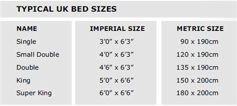 size of mattress bed and mattress size conversion bed and mattress sizes