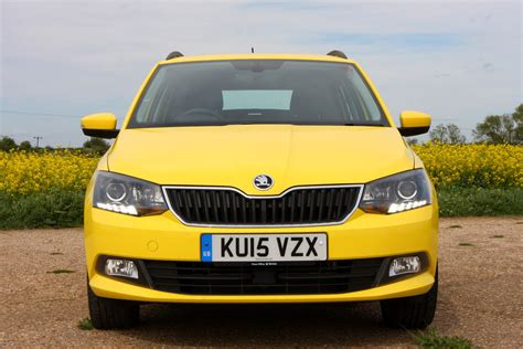 skoda fabia estate review  parkers
