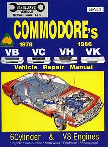Holden Commodore Vb Vc Vh Vk Workshop Repair Manual Book