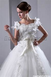 romantic square neckline short sleeves ball gown wedding With short ball gown wedding dresses