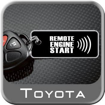 New Toyota Rav Auto Remote Engine Starter Kit