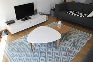 Tapis Salon Scandinave : salon scandinave 6 photos aurore123 ~ Teatrodelosmanantiales.com Idées de Décoration