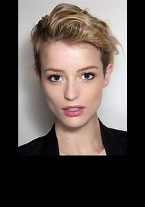Coiffure Blonde Courte : coiffure courte brune rock millaulespiedssurterre ~ Melissatoandfro.com Idées de Décoration