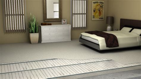 Electric floor heating for your Bedroom