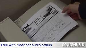 Crutchfield Mastersheet  Complete Car Audio Installation