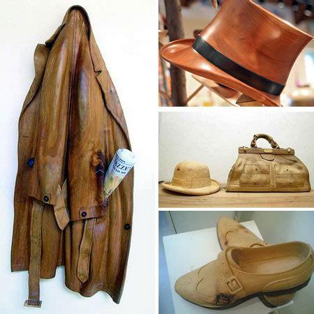 amazing wooden clothing design swan